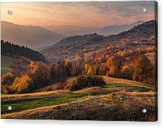 Rhodopean Landscape Acrylic Print