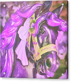 Ride Of Old Purples Acrylic Print