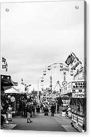 Acrylic Print featuring the photograph Rides by Whitney Leigh Carlson