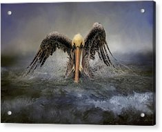 Riding The Storm Out Acrylic Print