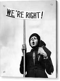 Righteous Acrylic Print by John Chillingworth