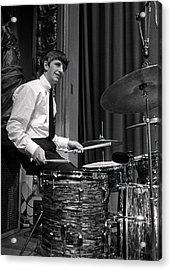 Ringo Starr, Drummer Of The Beatles Pop Acrylic Print
