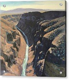 Rio Grande Gorge Acrylic Print