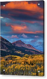 Rising Color  Acrylic Print
