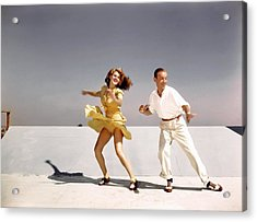 Rita Hayworth And Fred Astaire Acrylic Print