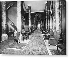 Ritz Interior Acrylic Print by H. C. Ellis