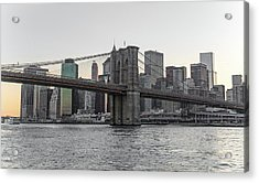 River Dwellers Acrylic Print