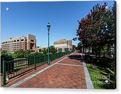 Riverwalk Downtown Augusta Ga Acrylic Print