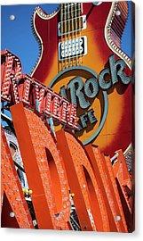 Riviera Rock Acrylic Print by Joseph Smith