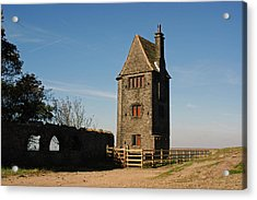 Rivington. The Pigeon Tower. Acrylic Print