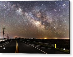 Road To Milky Way Acrylic Print