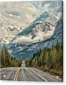 Road To The Clouds Acrylic Print by Jeff R Clow