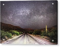 Road To The Stars Acrylic Print
