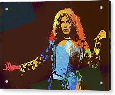 Robert Plant Tribute Acrylic Print