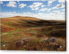 Acrylic Print featuring the photograph Rock Outpost by Scott Bean