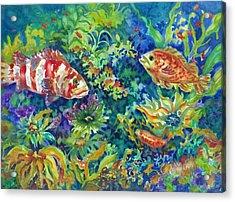 Rockfish Acrylic Print