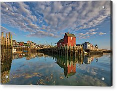 Acrylic Print featuring the photograph Rockport On Cape Ann Massachusetts by Juergen Roth