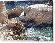 Rocks At Montana De Oro Acrylic Print