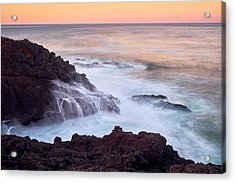 Acrylic Print featuring the photograph Rocky Creek by Whitney Goodey