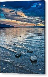 Rocky Lake Vista Acrylic Print