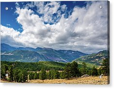 Acrylic Print featuring the photograph Rocky Mountain Np II by James L Bartlett
