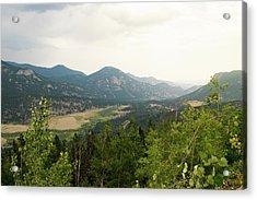 Rocky Mountain Overlook Acrylic Print