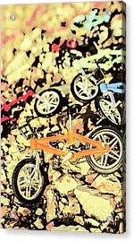 Rocky Racers Acrylic Print