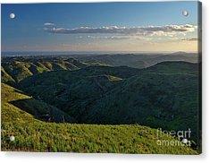 Rolling Mountain - Algarve Acrylic Print