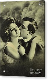 Romantic Delight In 1907 Acrylic Print