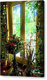 Acrylic Print featuring the photograph Room With A View by Joan Reese