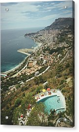 Roquebrune-cap-martin Acrylic Print