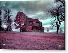 Rose Farm In Infrared Acrylic Print