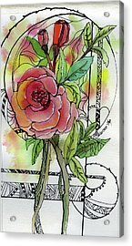 Rose Is Rose Acrylic Print