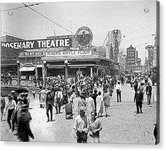 Rosemary Theater Santa Monica Acrylic Print