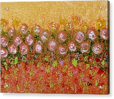 Roses Of Autumn Acrylic Print