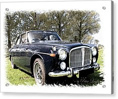 Rover 3.5 Coupe Acrylic Print