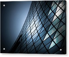 Acrylic Print featuring the photograph Roy Thomson Hall Toronto Canada No 2 by Brian Carson
