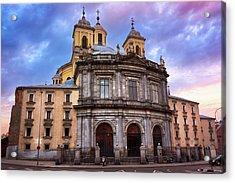 Royal Basilica Of San Francisco El Grande Acrylic Print