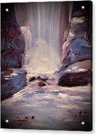 Royal Falls Acrylic Print