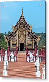Acrylic Print featuring the photograph Royal Park Rajapruek Grand Pavilion Dthcm2585 by Gerry Gantt
