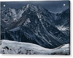 Rugged Rocky Mountains Acrylic Print by Aluma Images