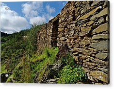 Ruins Of A Schist Cottage In Alentejo Acrylic Print