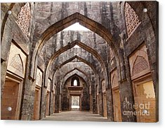 Ruins Of Afghan Architecture In Mandu Acrylic Print