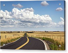 Rural Highway Acrylic Print