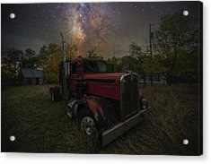 Acrylic Print featuring the photograph Rusty  by Aaron J Groen
