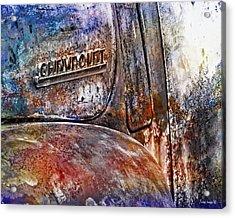 Rusty Rainbow Acrylic Print