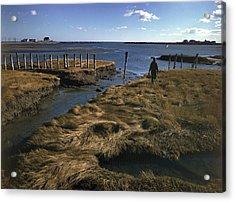 Rye Harbor, New Hampshire Acrylic Print