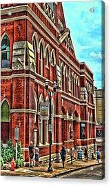 Ryman Auditorium # 2 - Nashville Acrylic Print