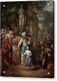 Sacrifice Of Iphigenia, 1700 Acrylic Print