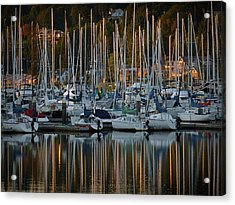 Sailboat Reflections Acrylic Print